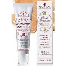 CC Cream Rosa Mosqueta con filtro solar de Natysal
