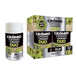 Cromo + Forskohlii Duo De Novity Dietmed